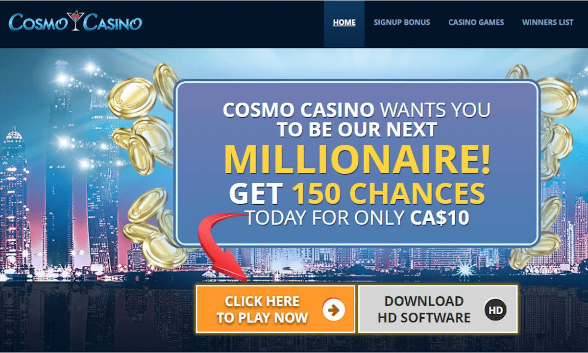 Cosmo casino review : one of the best online casinos ?